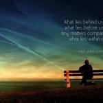 Seeking Ralph Waldo Emerson