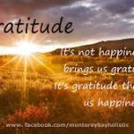 Getting Grateful