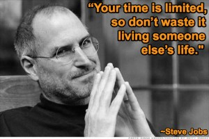 steve jobs time is out
