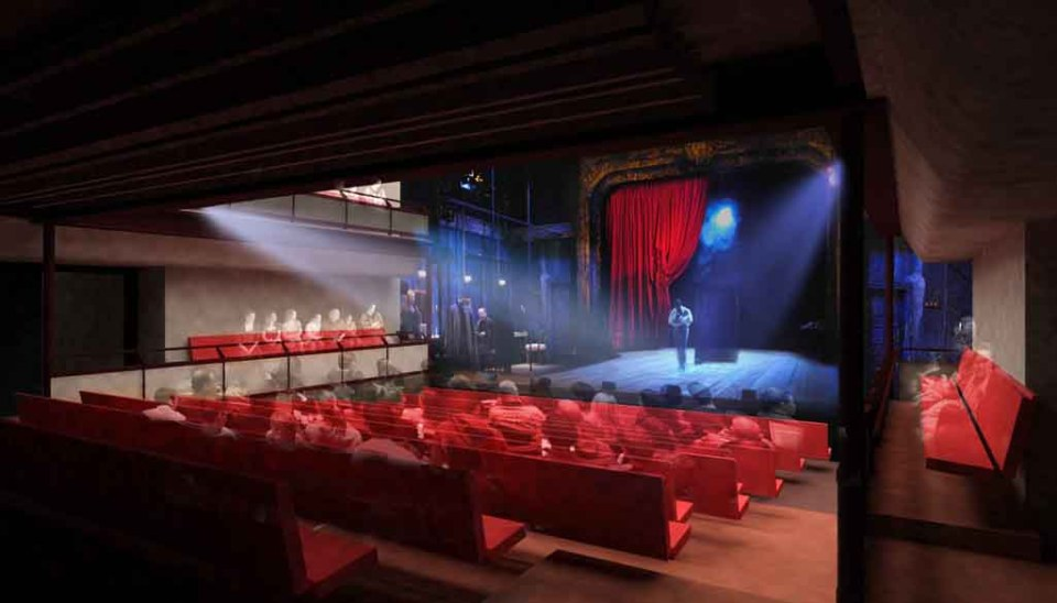 Tricycle Theatre Auditorium