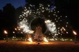 Feuershow aus Berlin