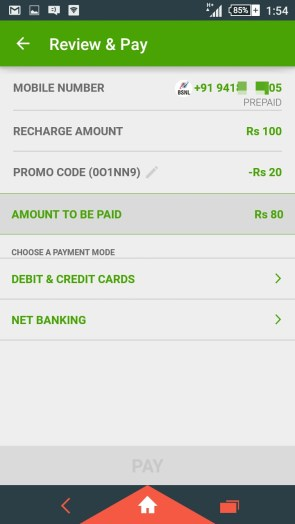 Onepay Mobile Recharge Offer