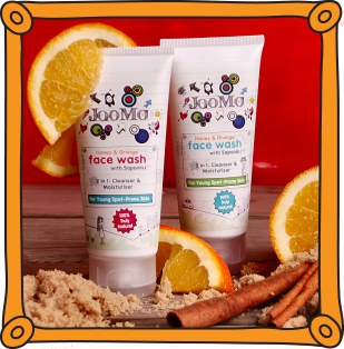 natural face wash by JooMo - buy our products here
