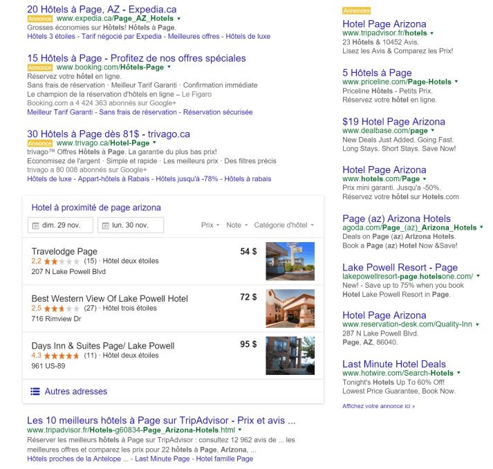 google s attaque la comparaison d h tels ca va faire