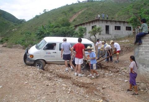 Campo de trabajo en Tlapa