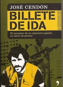 "Portada de ""Billete de ida"" de José Cendón"