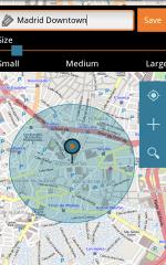 Geopps App screen