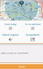 Geopps App screen 2