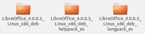 Paquetes Libre Office 4