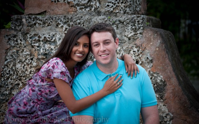 Engagement Photo Shoot in Coral Gables Florida by Jorge R Gonzalez Photography