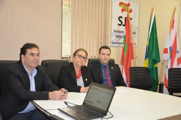 Foto: Denise Lacerda / Secretaria de Justiça e Cidadania