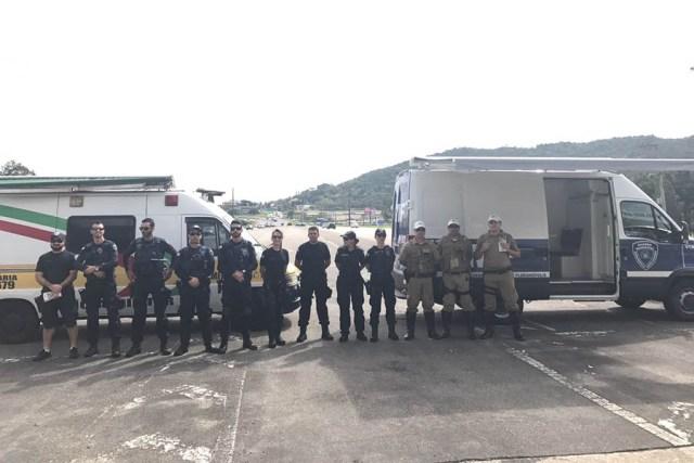 Polícia Militar Rodoviária e Guarda Municipal atuam juntas em operação de trânsito na SC 401