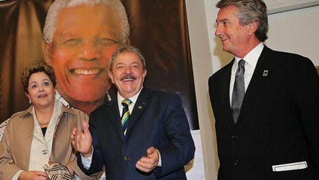Dilma Rousseff, presidente da República (na  foto com Lula e Fernando Collor): não há prova cabal  de que a petista seja corrupta e que tenha se beneficiado de maneira direta do esquema da Petrobrás | Foto: Marcos Dantas