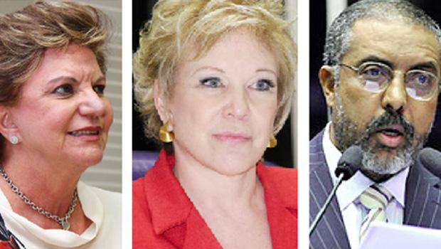 Fusão entre PSB e PPS atrai os senadores Paulo Paim, Lúcia Vânia e Marta Suplicy