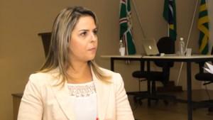 Coordenadora do projeto, professora da Faculdade de Farmácia da UFG, Carolina Horta