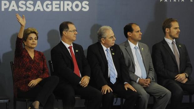 E foi mesmo em Goiânia o último evento oficial de Dilma fora de Brasília antes do afastamento | Foto: Renan Accioly/Jornal Opção