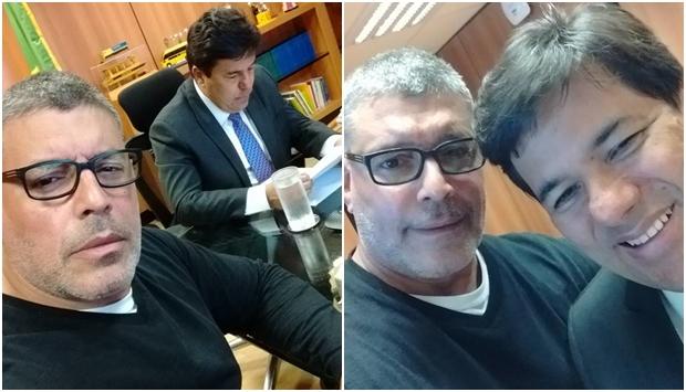 Ministro da Educação recebe Alexandre Frota e líder do Revoltados Online