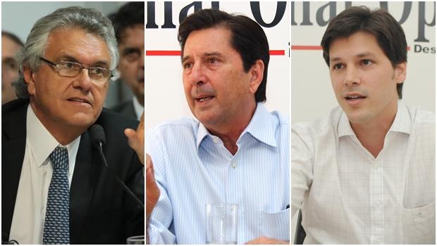Ronaldo Caiado: apoio de Iris; Daniel Vilela: força interna; Maguito Vilela: na reserva