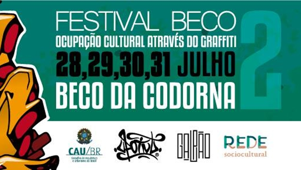 Festival Beco 2: o graffitti como ferramenta de mudança