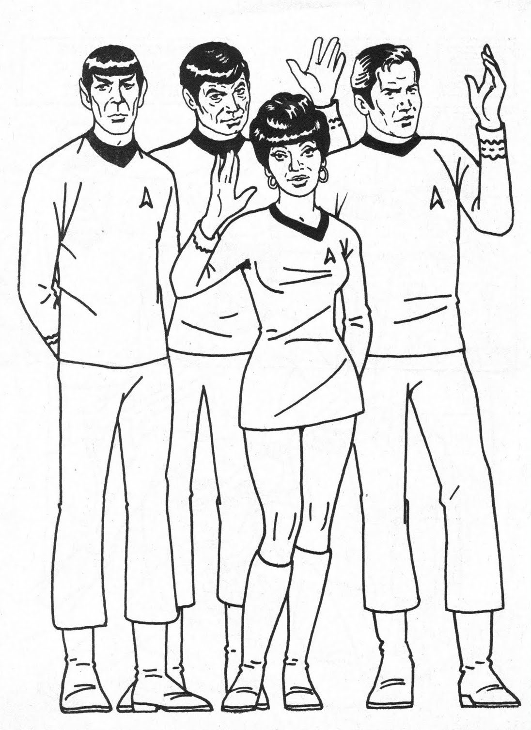 Star Trek: The Coloring Book!