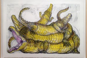 """Legartos,"" Luis Jimenez, Colored lithograph"