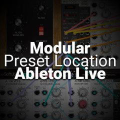 Resolved: Softube Modular Presets Location in Ableton Live??!!