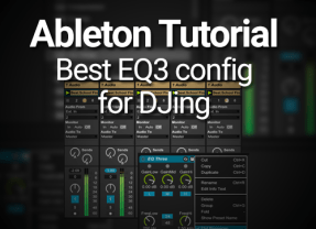 Ableton Tutorial: Best EQ3 Configuration for DJs