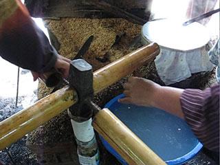 Image: Video frame, bamboo carousel