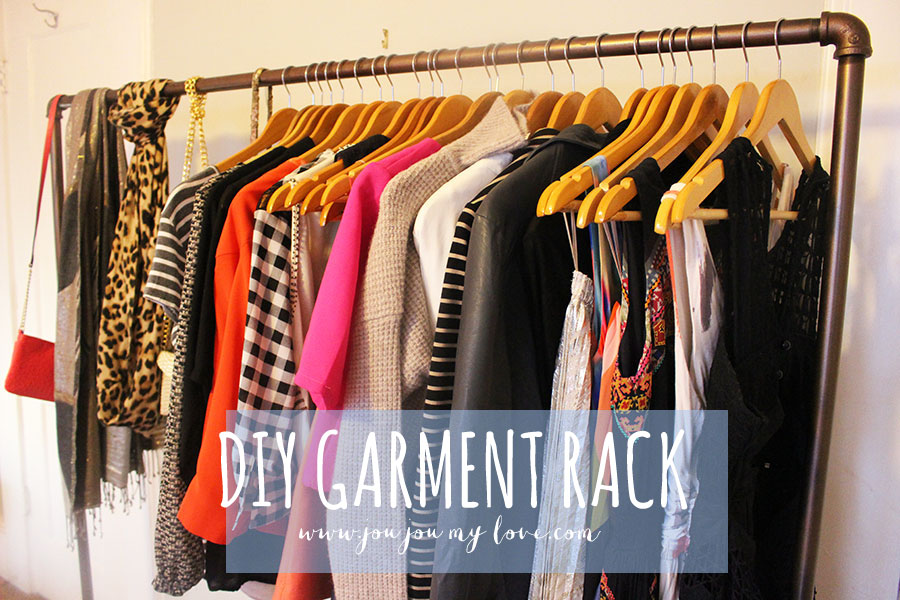 DIY Garment Rack