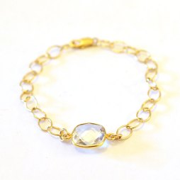 bezel-clear-chalcedony-bracelet-14k-gold
