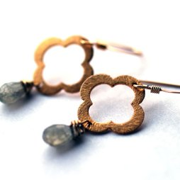 flower-earrings-labradorite-handmade