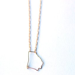 ga-state-outline-necklace-georgia-wire