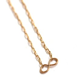 handmade-infinity-necklace-gold-simple-jewelry-dainty