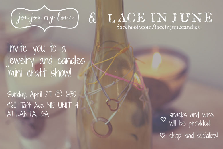 jewelry and candles mini craft show