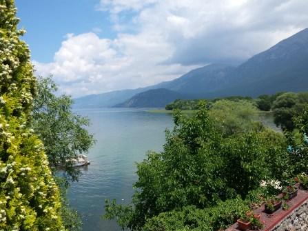 Ohridsee: Backpacking im Rentner-Paradies – Eine Hommage an den Ohrid-See - Blick vom Kloster St Naum