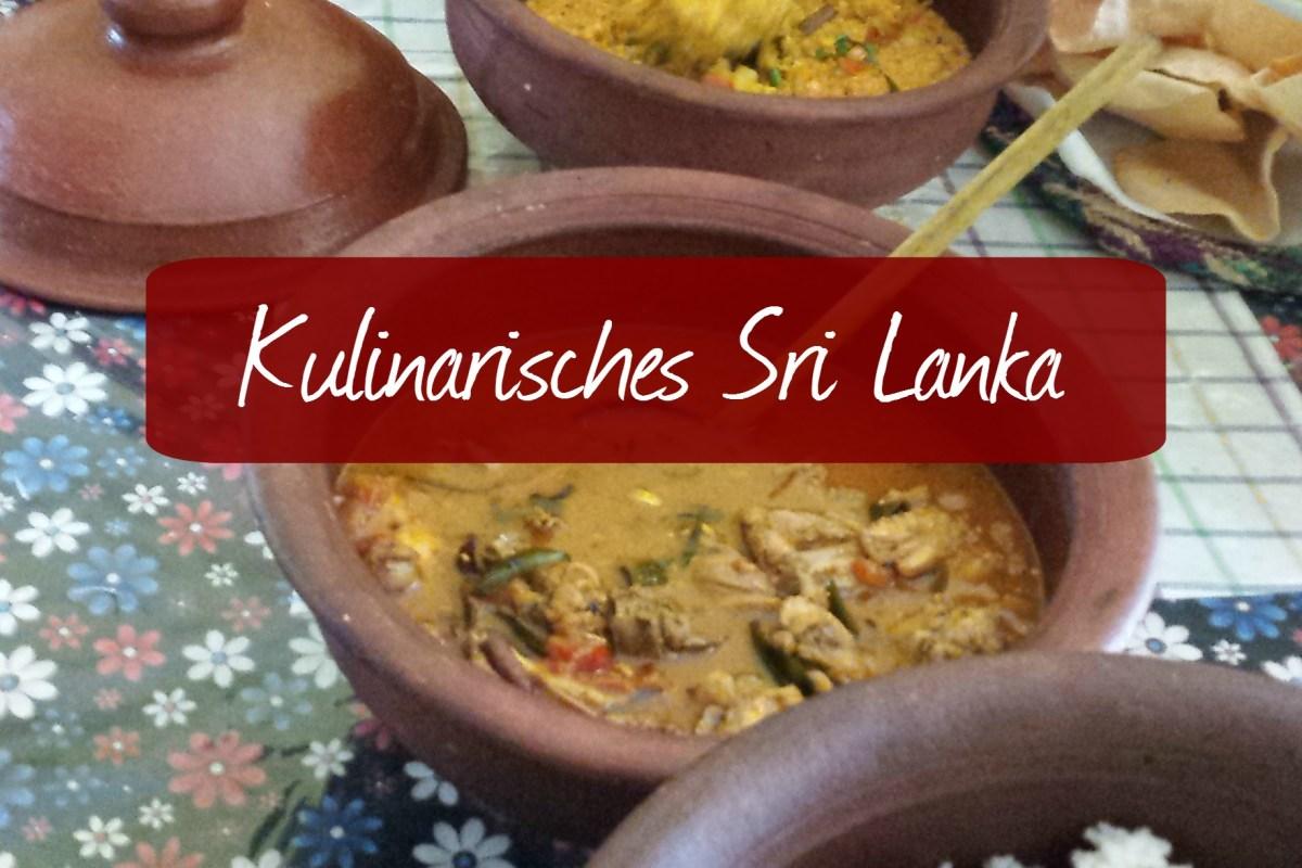 Kulinarisches Sri Lanka  - Vier leckere Curryrezepte zum nachkochen