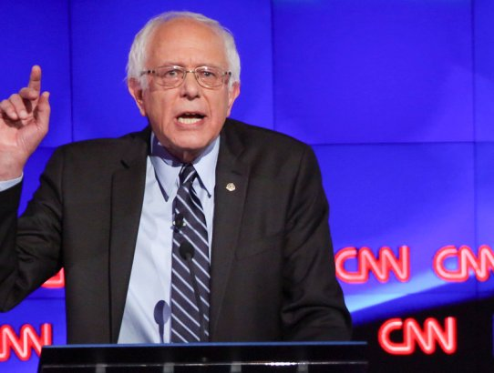 Bernie Sanders joked that GOP candidates are mentally ill, striking a sour chord with voters suffering mental health issues.