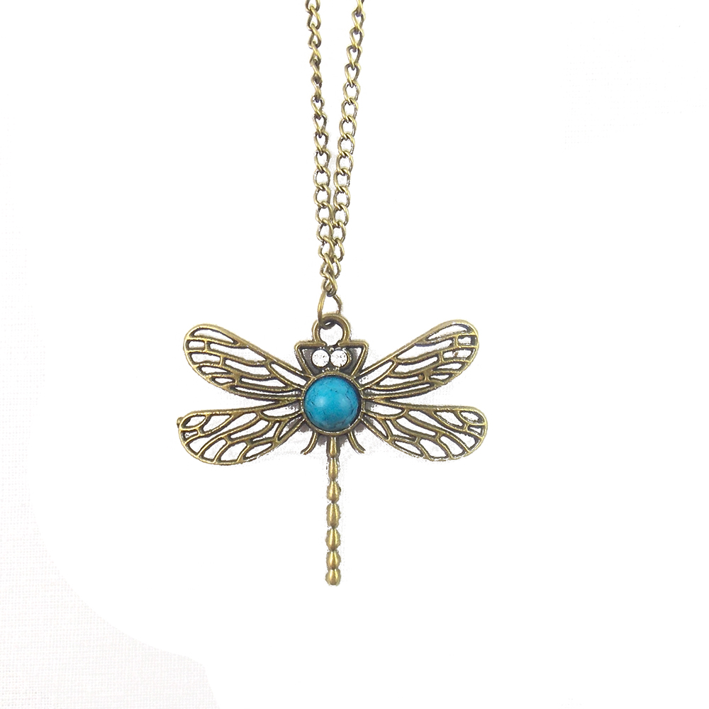 Blue Dragonfly - Detail