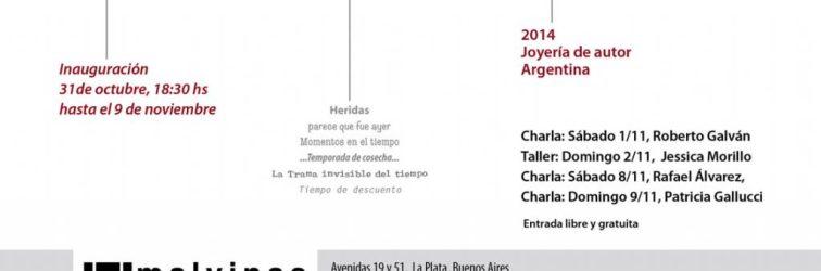 TIEMPO de paseo: la muestra itinerante de Joyeros Argentinos en La Plata
