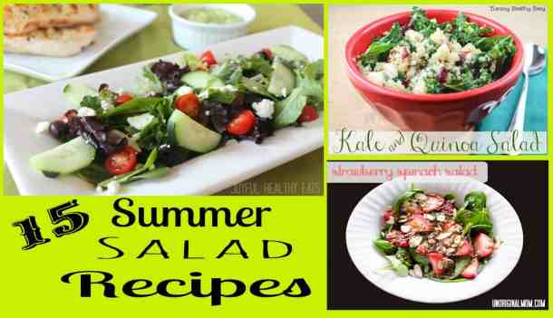 Summer Salad Recipe Roundup #saladrecipes