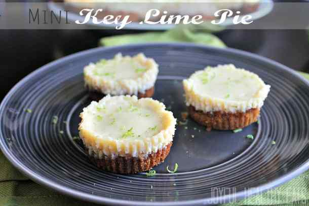 Mini Key Lime Pie #keylimerecipes #keylimepie #dessert