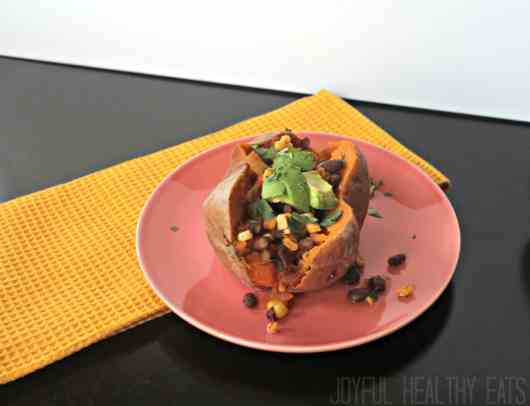 Tex-Mex Stuffed Sweet Potato 7