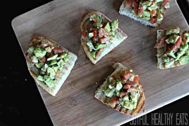 Avocado Crostini 8
