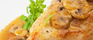 Chicken Marsala at Joy of Food