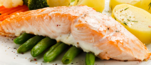 Salmon is but one main course that Joy of Food can deliver with dinner