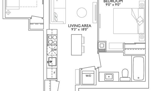 1 yorkville floorplan