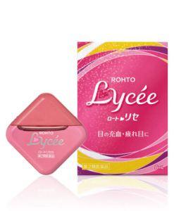 น้ำตาเทียม rohto lycee