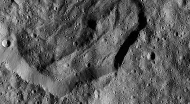 Messor Crater from LAMO
