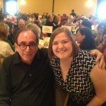 Lunch with RL Stine at PPWC!
