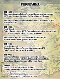 Manifestazioni: Eriador a Messina